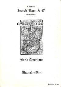 Early Americana.
