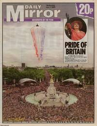 Elizabeth II Golden Jubille. The Mirror, Wednesday June 5, 2002 by The Mirror - 2002 - from Cosmo Books (SKU: 306872)