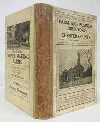 image of FARM AND BUSINESS DIRECTORY OF CHESTER COUNTY PENNSYLVANIA With a Complete  Road Map of the County