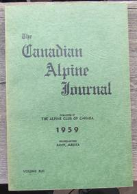 The Canadian Alpine Journal 1959 volume XLII forty-two