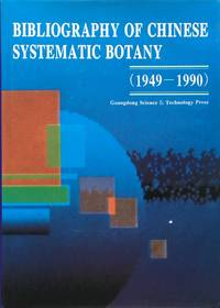 Bibliography of Chinese systematic botany