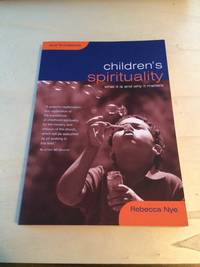 image of Children's Spirituality: What it is and why it matters