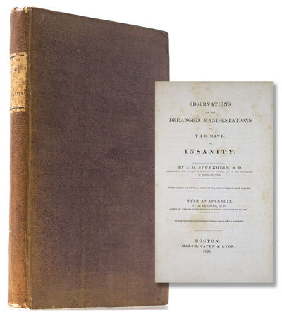 Boston: Marsh, Capen & Lyon, 1836. Third American edition, with notes, Improvements and Plates. Illu...