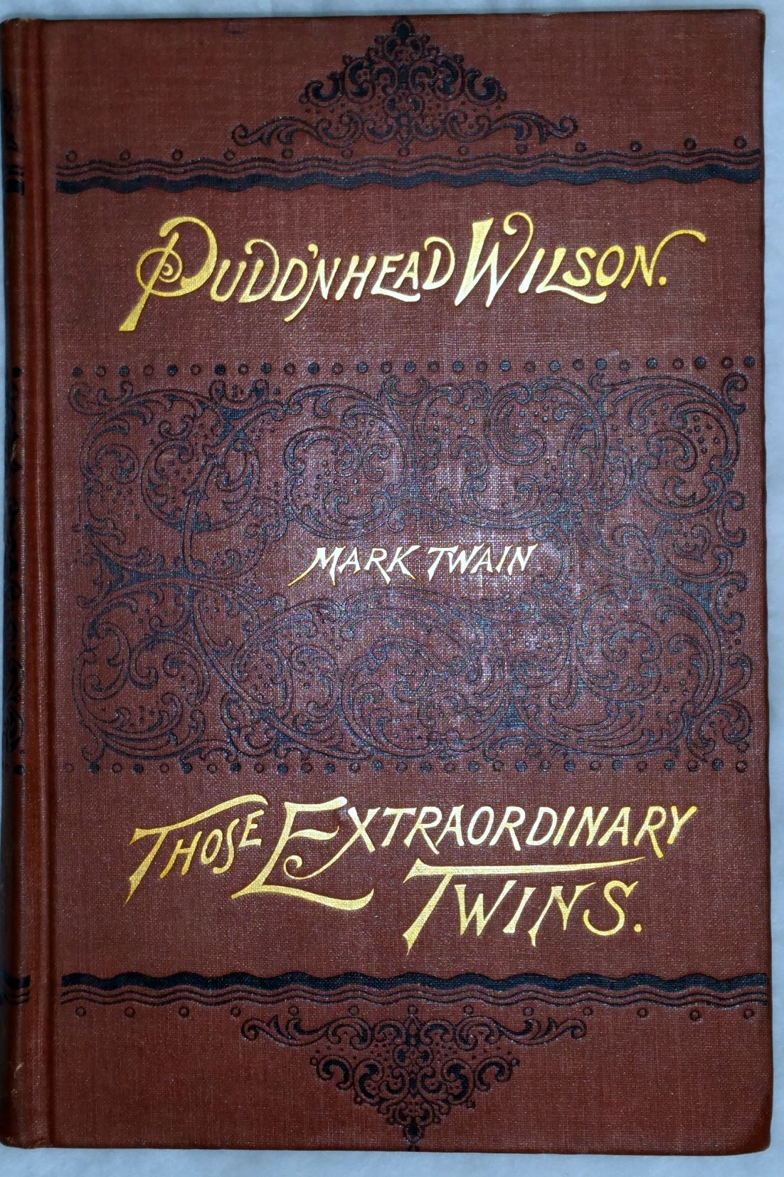 pudd nhead wilson and those extraordinary twins The comic tragedy of pudd'nhead wilson, then, serves up the cold lesson that is often repeated in law and courts courses—sometimes the law, despite its best intentions, is a source of great misfortune for those who either intentionally or unwittingly become entangled in the judicial process.