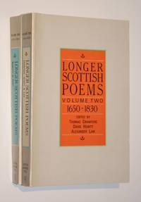 Longer Scottish Poems: Vol. One 1375-1650 & Vol. Two 1650-1830