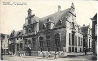 image of Malines / Mechelen, Belgium-Palace of Justice on 1920s Postcard