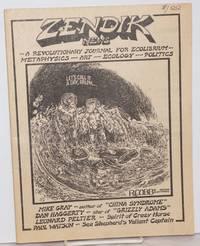 "image of Zendik News: a revolutionary journal for ecolibrium, metaphysics, art, ecology, politics; #11, March 1983; ""Let's call it a day Ralph"