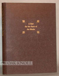 Chicago: The Lakeside Press, 1928. cloth. Bookbinding. 4to. cloth. 32 pages. Reprint of the first ed...
