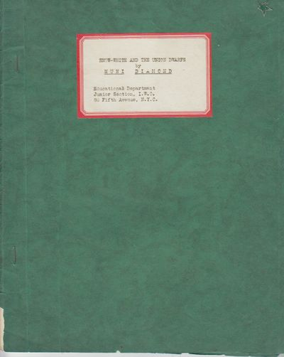 New York: Educational Dept., Junior Section, IWO. First Edition; First Printing. Softcover. Wraps, m...