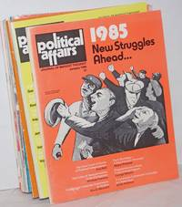 image of Political affairs, theoretical journal of the Communist Party, USA. Vol. 64, no. 1, January, 1985 no. 12, December, 1985