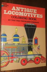 image of Antiques Locomotives Coloring Book