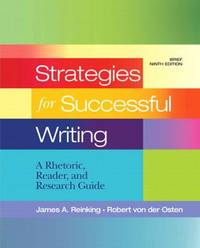 image of Strategies for Successful Writing : A Rhetoric, Reader and Research Guide