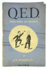 Q.E.D: Some Hints on Arguing