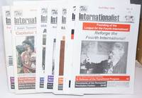 image of The Internationalist. A journal of revolutionary Marxism for the reforging of the Fourth International [seven issues]