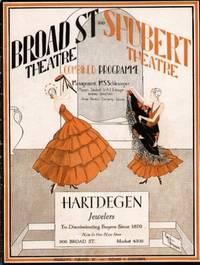 BROAD ST. THEATRE & SHUBERT THEATRE COMBINED PROGRAM (1929)  Newark, New  Jersey