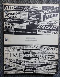 image of CANADAIR PRESS CLIPPINGS RE: CL-66 / CL-44 / BRAZIL.  1958.  (PRESS COMMENTS.)