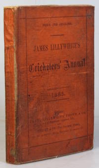 """James Lillywhite's Cricketers' Annual for 1886. With which is incorporated """"James..."""