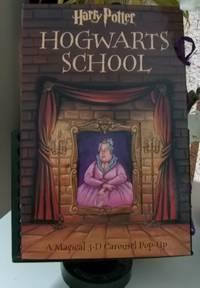 Harry Potter Hogwarts School A Magical 3 D Carousel Pop Up Book By