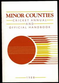 image of Minor Counties Cricket Annual and Official Handbook 1988