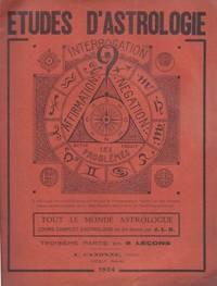 Etudes D'astrologie - Tout le Monde astrologue (fascicule 3 - leçons 17 à 24)