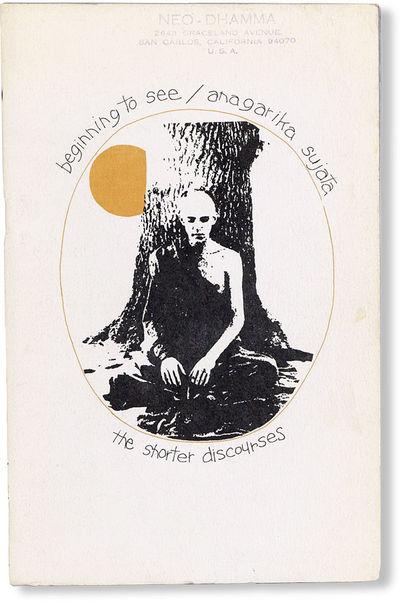Denver: Sasana Yeiktha Meditation Center / The Buddhist Society, . Octavo (21.5cm.); publisher's gre...