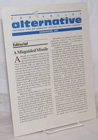 image of The Valley Alternative: independent news & commentary exploring multi-cultural democracy; March/April 1993; a misguided missile