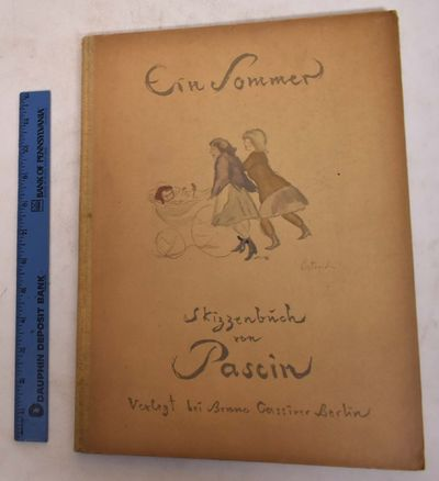 Berlin: Bruno Cassirer, 1920. Hardcover. VG, some darkening to covers. Tan boards with illustration....