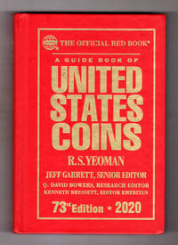 A Guide Book of United States Coins 2020 (Hardcover). The Official Red Book.