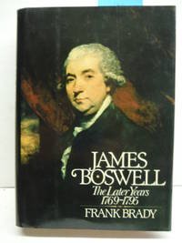 James Boswell, the later years, 1769-1795