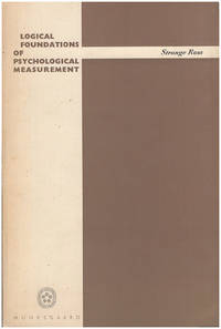 Logical Foundations of Psychological Measurement: A Study in the Philosophy of Science