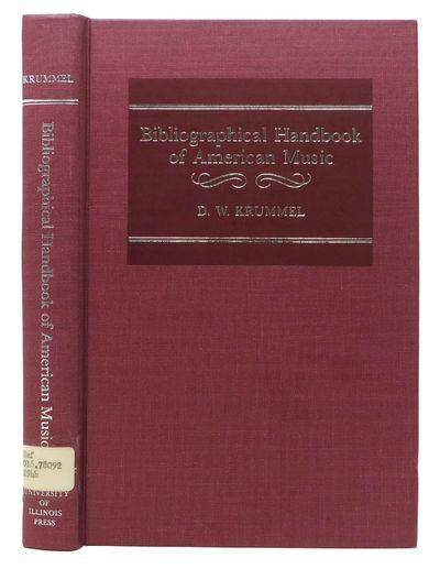 Urbana & Chicago: University of Illinois Press, 1987. 1st Edition. maroon publishers cloth, silver l...