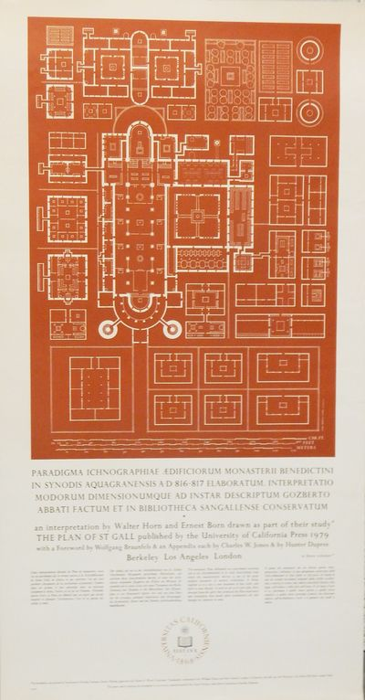 Berkeley: University of California, 1978. Broadside. Fine. 20 by 37 inches, printed in black and red...