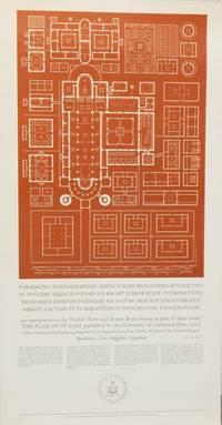 Broadside: Paradigma Ichnographiae Ædificiorum Monasterii Benedictini in Synodis Aquagranensis  A.D. 816-817 Elaboratum