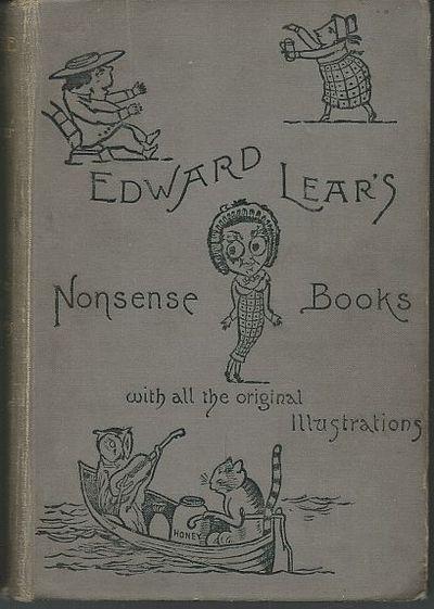 NONSENSE BOOKS, Lear, Edward
