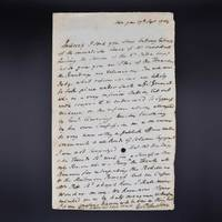 An Important Autograph Letter concerning Warren Hastings and the Treaty of Banaras