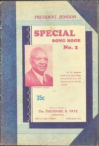 PRESIDENT JEMISON Special Song Book Number 2 [caption title]