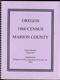 Oregon 1860 Census Marion County