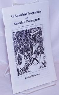 image of An anarchist programme and anarchist propaganda