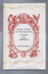Music Titles in Translation, a checklist of musical compositions