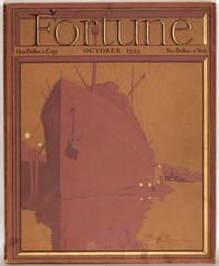 Fortune Magazine.  1933 - 10.  (October)
