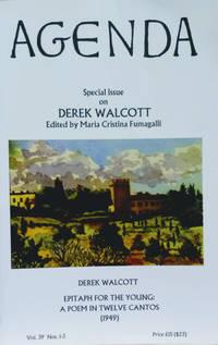 Agenda, Vol. 39, Nos. 1-3, Winter 2002-2003:  Special Issue on Derek  Walcott