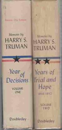 Memoirs By Harry S. Truman 2 Volume Set