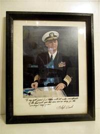 Admiral Arleigh Burke. FRAMED COLOR PHOTO.