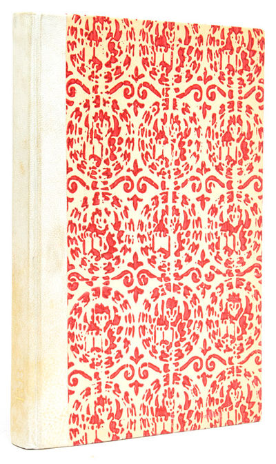 : Appresso Piazzesi Legatore, 1975. No. 48 of 300 copies. With title page vignette and 26 ornamental...