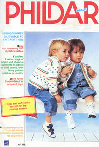 PHILDAR MAILLES : No 118 : Layettes, Toddler, Toys
