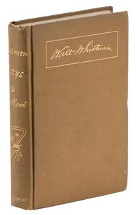 Specimen Days & Collect [Unrecorded] by  Walt (1819-1892) WHITMAN - First Edition - 1882 - from Fine Editions Ltd and Biblio.co.uk