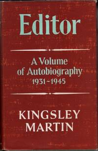 image of Editor: a second volume of autobiography 1931-45