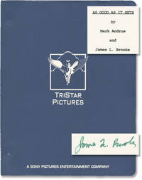 As Good As It Gets (Original screenplay for the 1997 film, signed by director-screenwriter James L. Brooks)