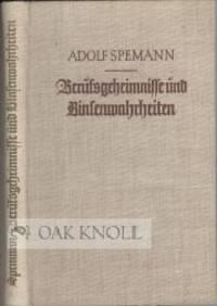 Stuttgart: Engelhorns, 1938. cloth, top edge stained red. 8vo. cloth, top edge stained red. 160 page...