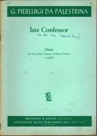 Missa Iste Confessor